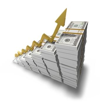 Money growth chart