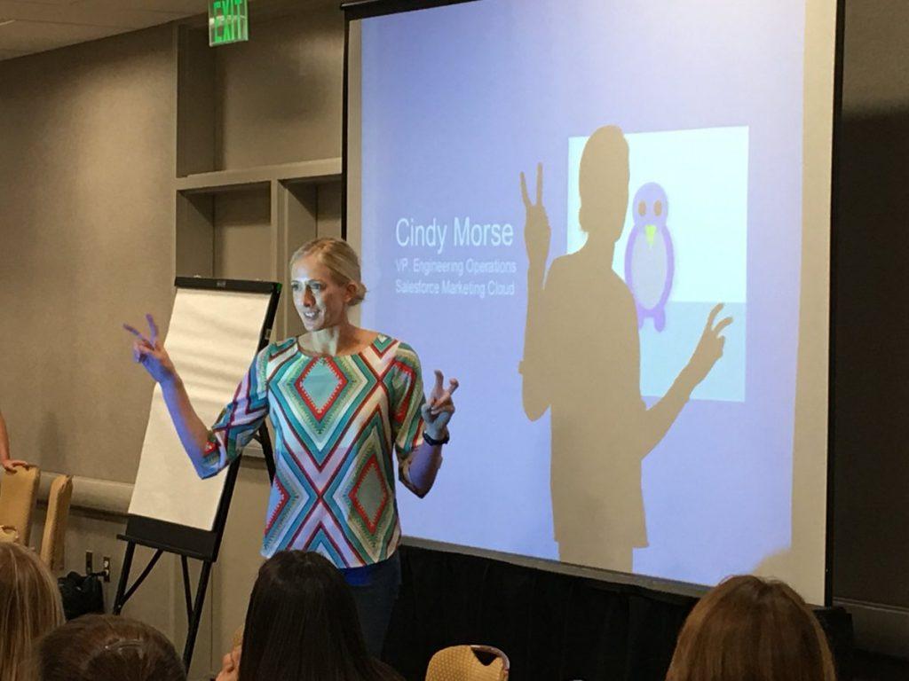 Keynote speaker Cindy Morse