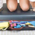 suitcase overstuffed